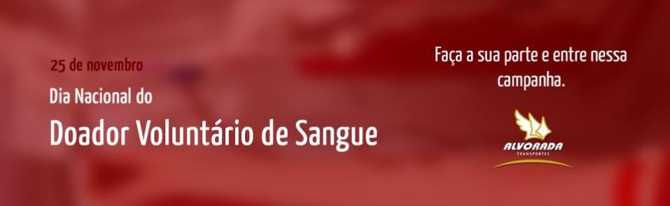 Semana do doador voluntário de sangue começa nesta segunda (25/11/2013)