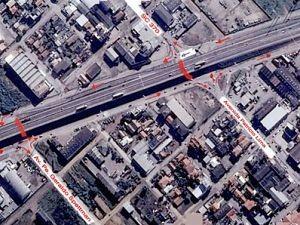 Trânsito nas vias laterais será alterado
