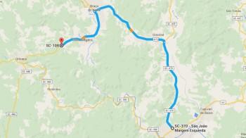 Govenador inaugura recuperação de rodovias entre Tubarão e São Ludgero