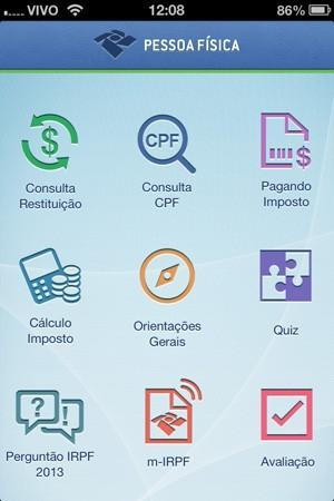 Veja como fazer a declaração do IR 2013 pelo celular ou tablet