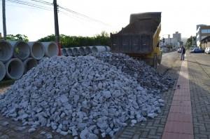 Revitalização da rua Padre Dionísio da Cunha Laudth será retomada com interdição ampliada