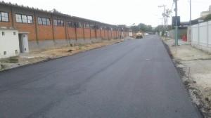 Rua Padre Dionísio da Cunha Laudth tem segundo trecho pavimentado